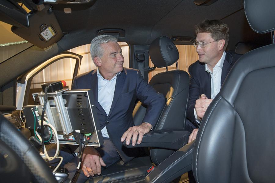 Baden-Württemberg is setting the pace for the mobility of tomorrow  Photo: Daimler AG