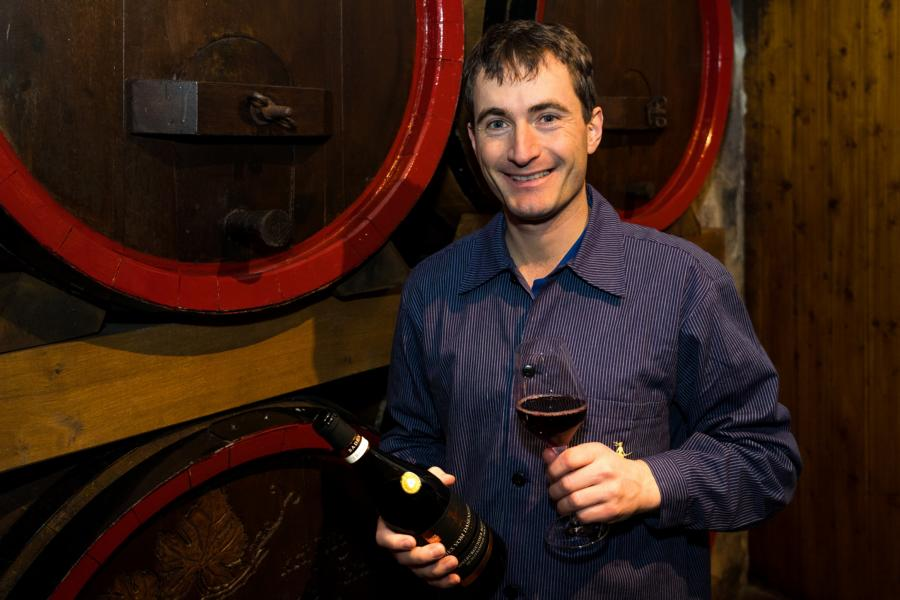 Cellar master Thomas Hirt is pleased about the inclusion of the Pinot Noir red wine to the