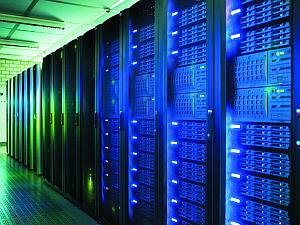 High-performance computers are used in science to obtain new findings.  Photo: KIT